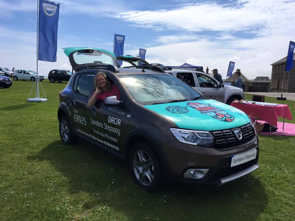 Miracle is Driven by Dales Dacia this summer!
