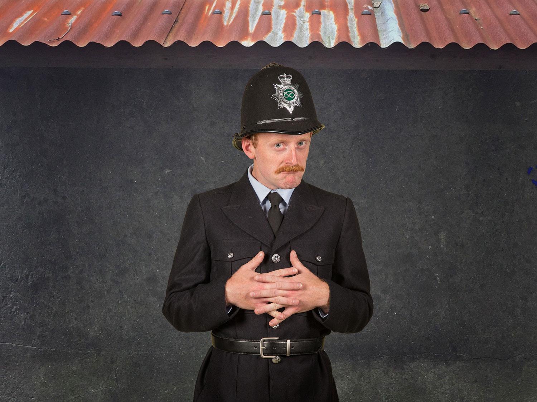 'Policeman Maccruiskenn' Ben Kernow