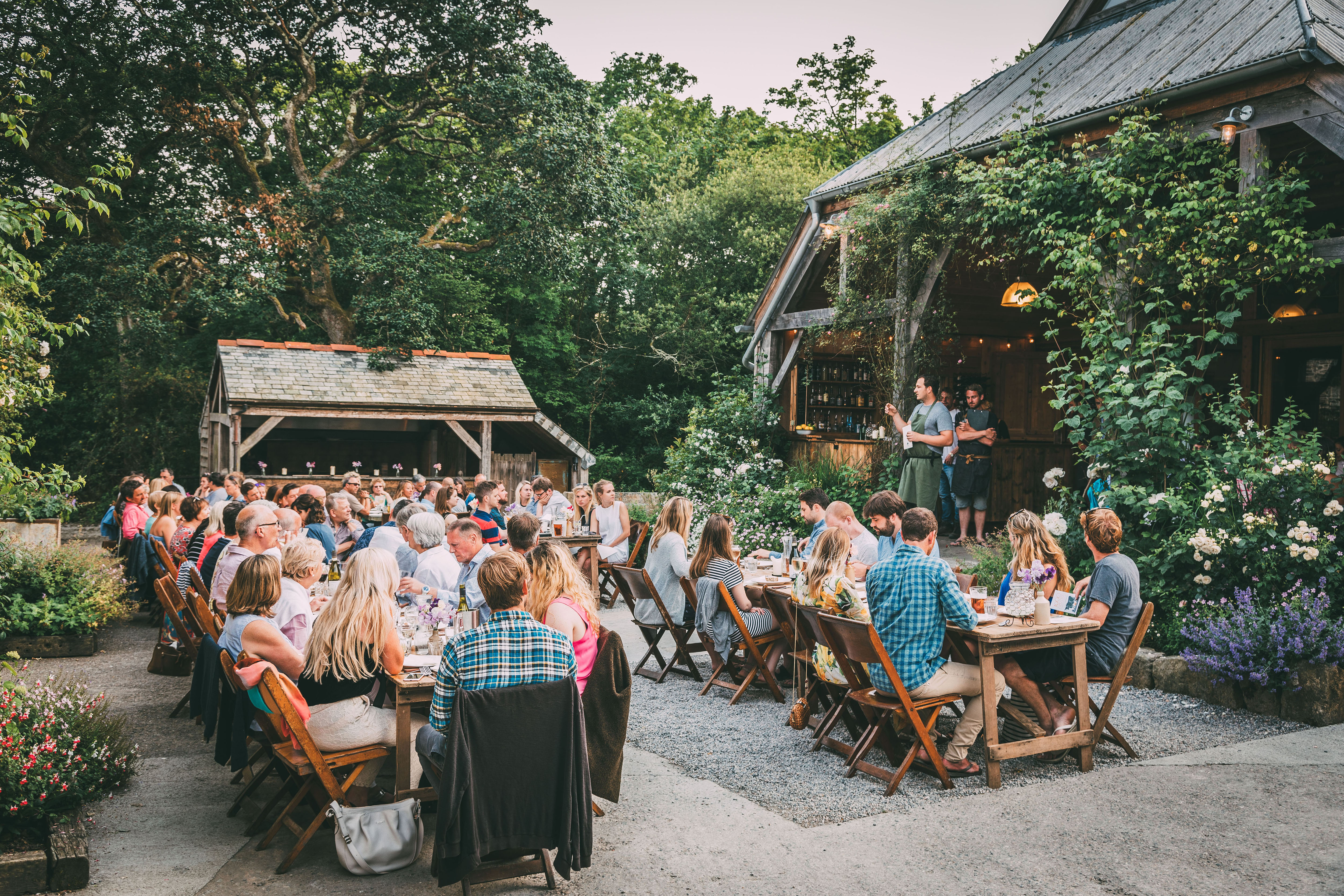 1000 Mouths will take place over four consecutive days from Thursday 5 to Sunday 8 October, with 12 feasts in total on Nancarrow Farm in Cornwall.