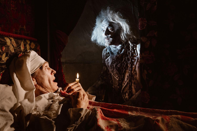 A Christmas Carol Scrooge And Marley.Bah Humbug A Christmas Carol Miracle Theatre