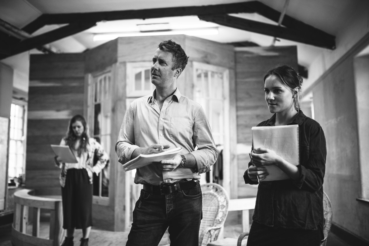 The Cherry Orchard Rehearsals Photo by Kirstin Prisk