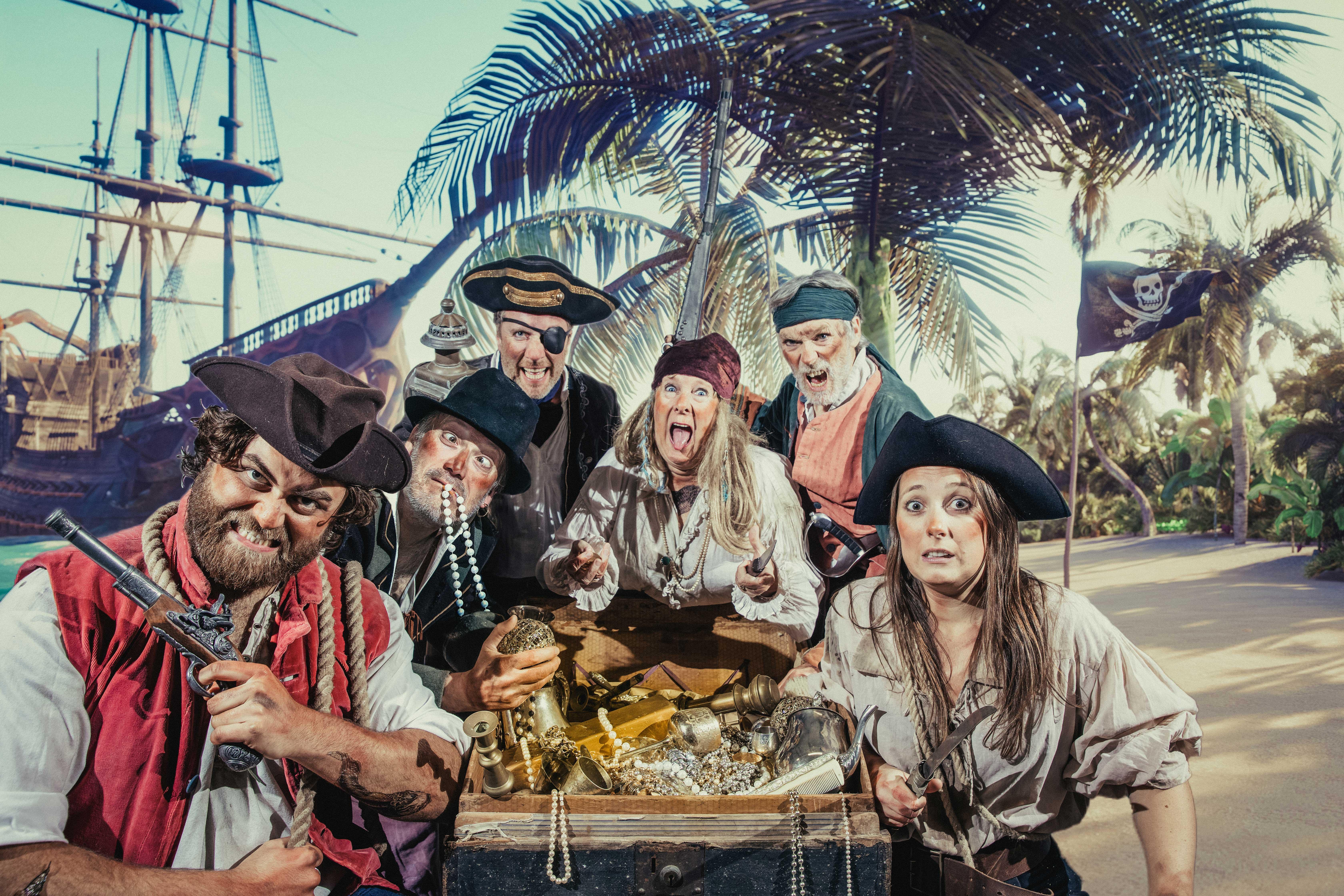 Treasure Island Full Crew Photo by Kirstin Prisk