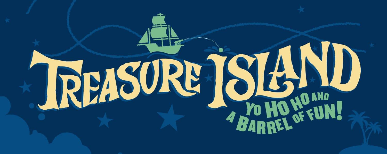 Tour poster for Treasure Island