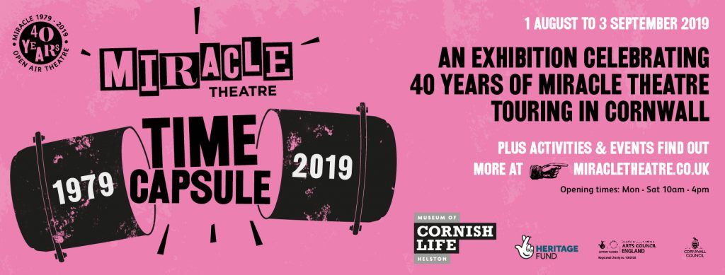 Miracle Time Capsule Exhibition, 1979 - 2019. This August.