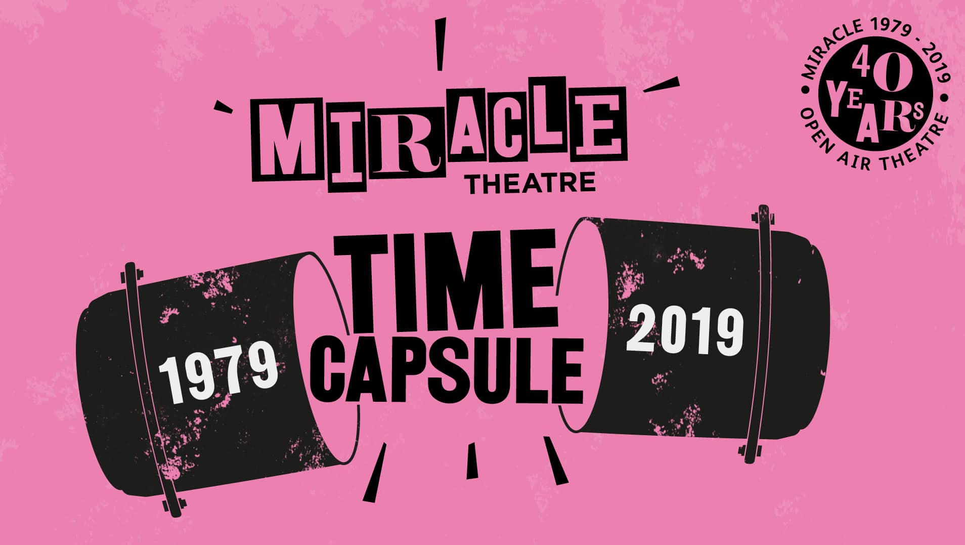 Our Time Capsule Exhibition celebrating 40 years of Miracle Theatre opens at Falmouth Art Gallery on 23rd November!