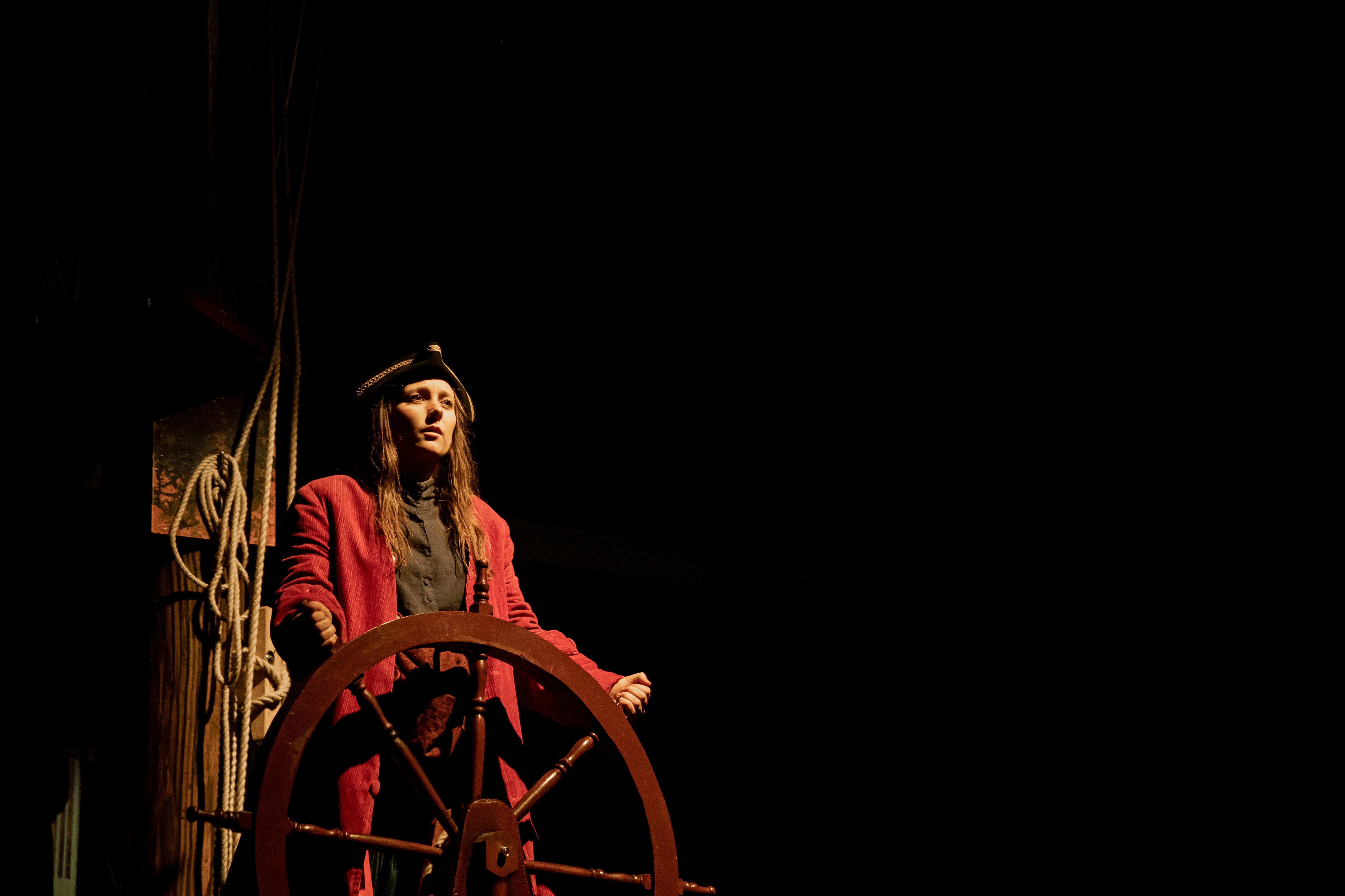 Hawkins played by Hannah Stephens