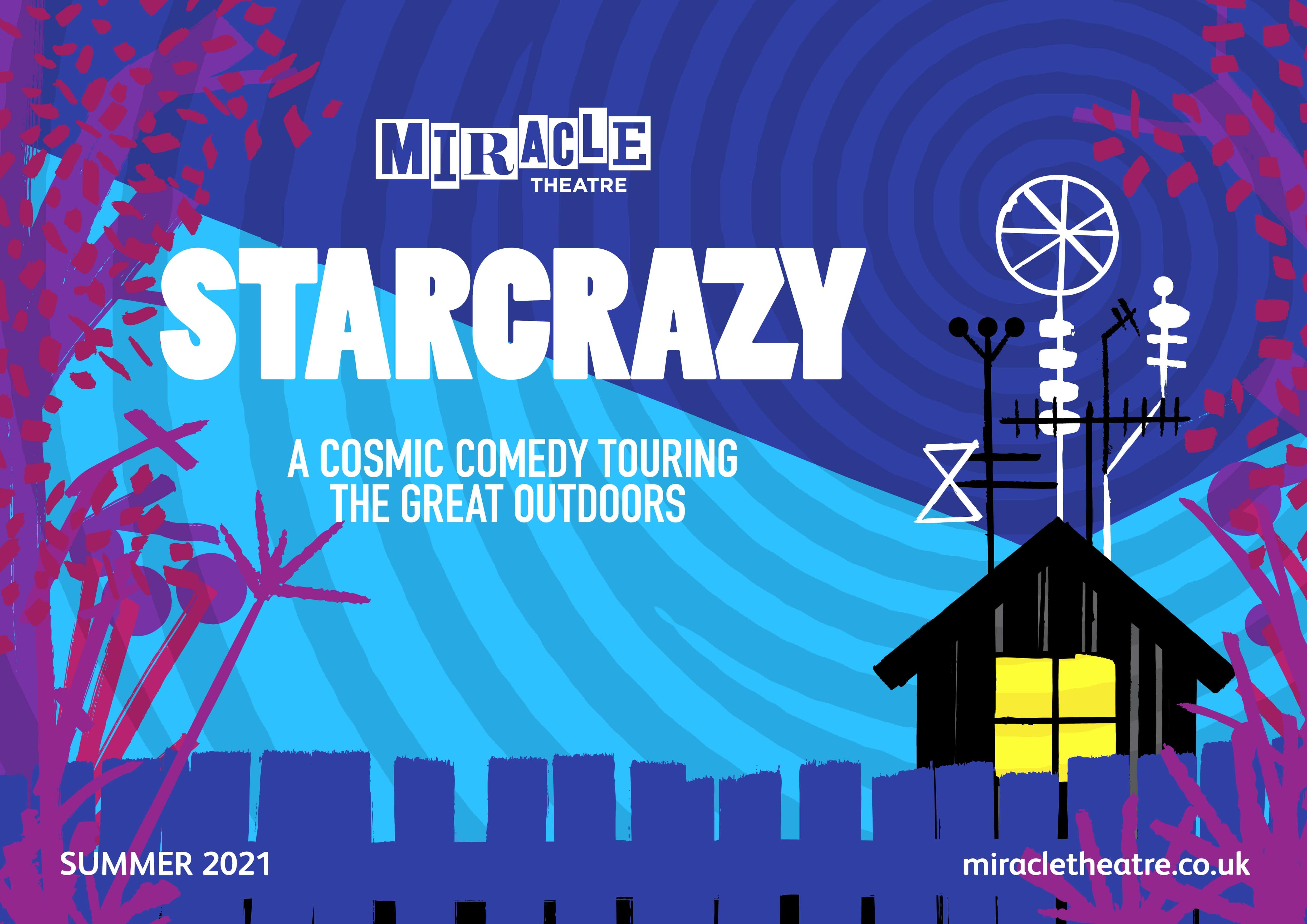 Tour poster for Starcrazy