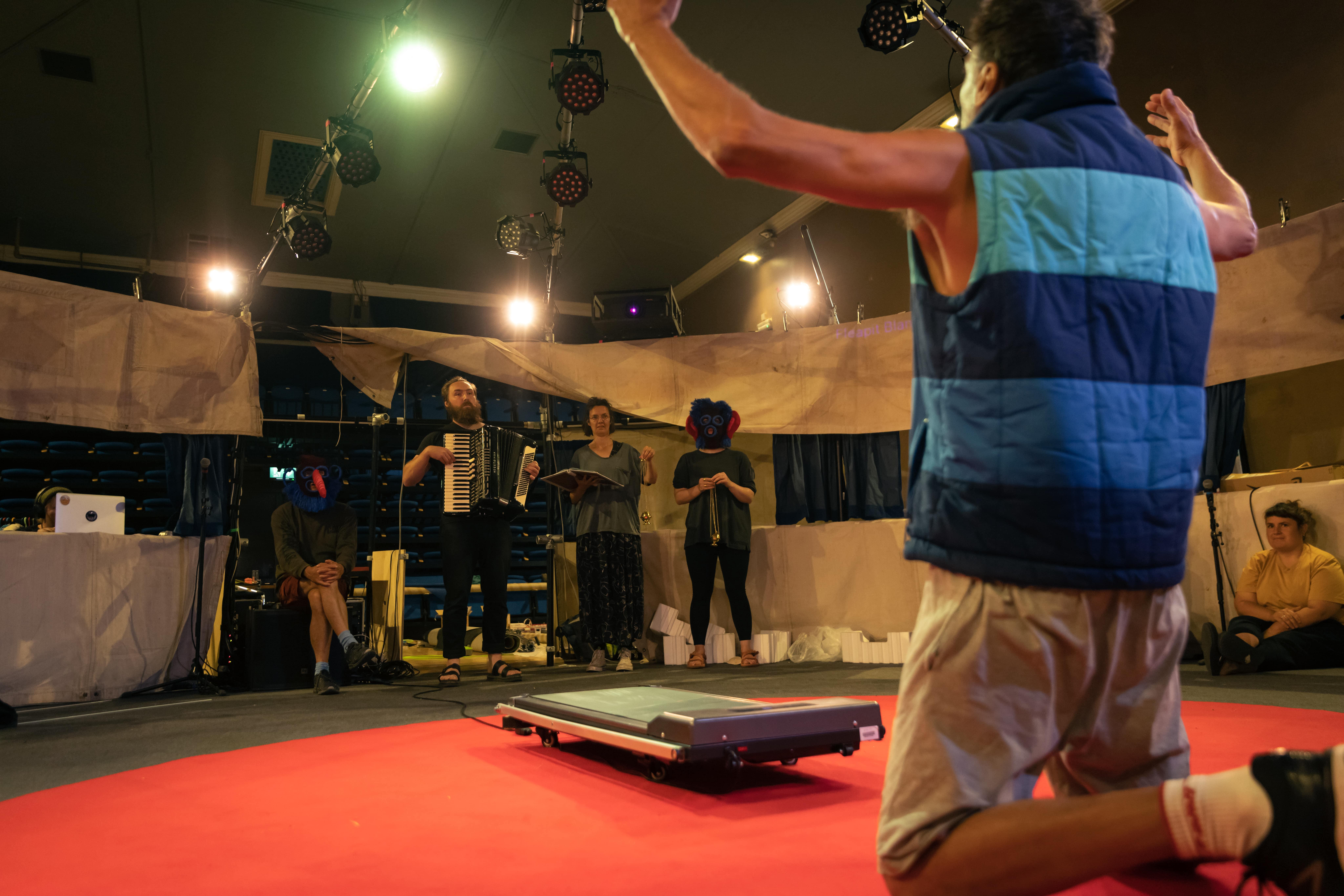 Everyman rehearsals