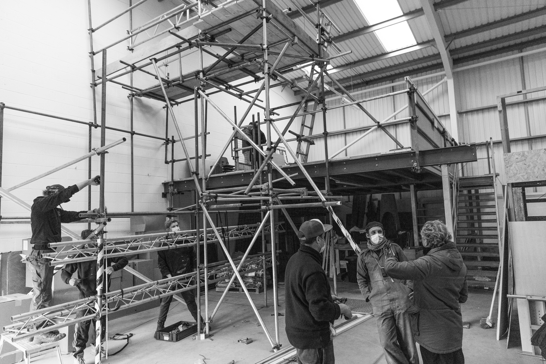 Mark Jenkins, BAFTA winning director special FX studio in the Production Space
