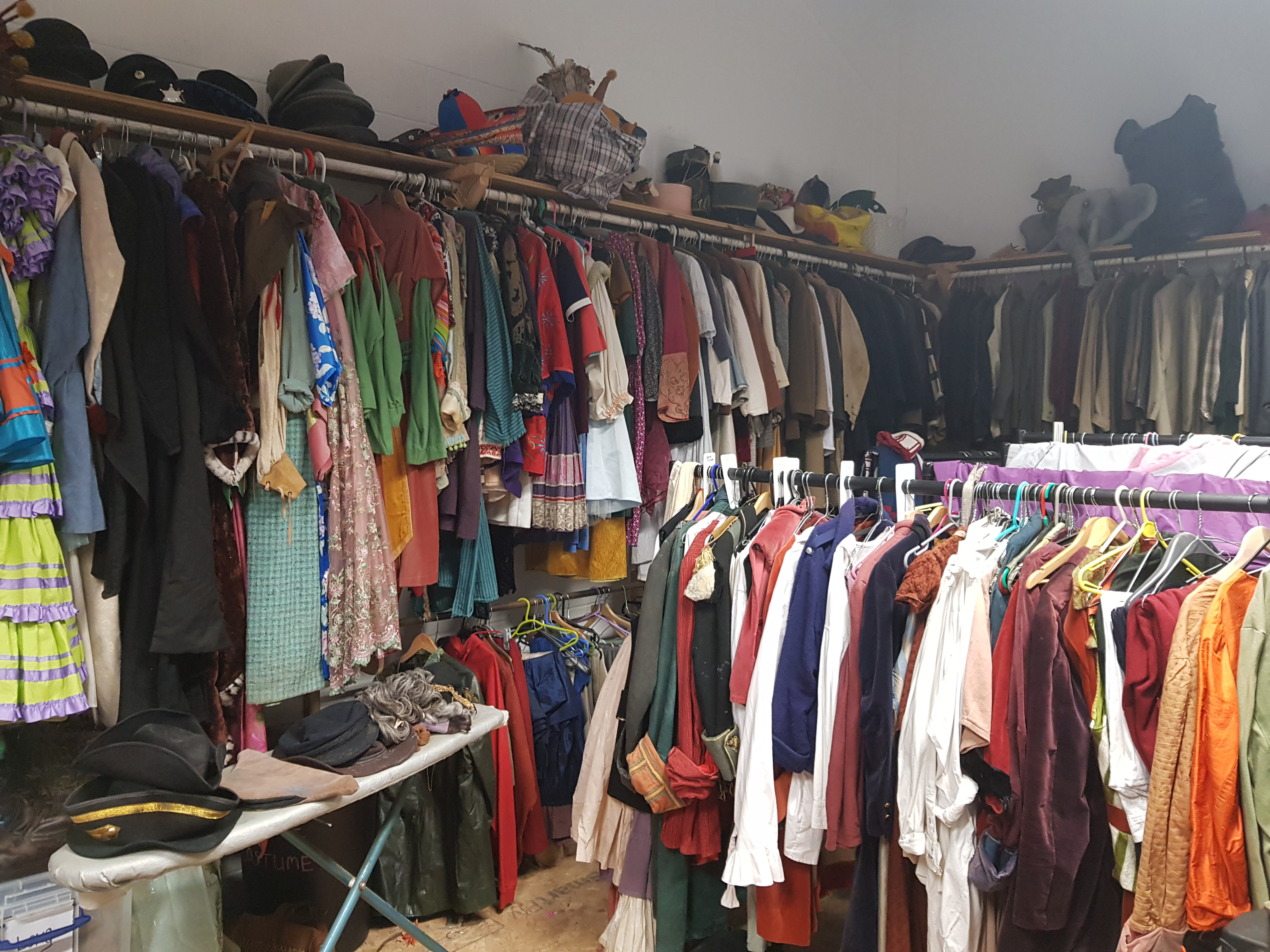 Wardrobe in Miracle Production Space