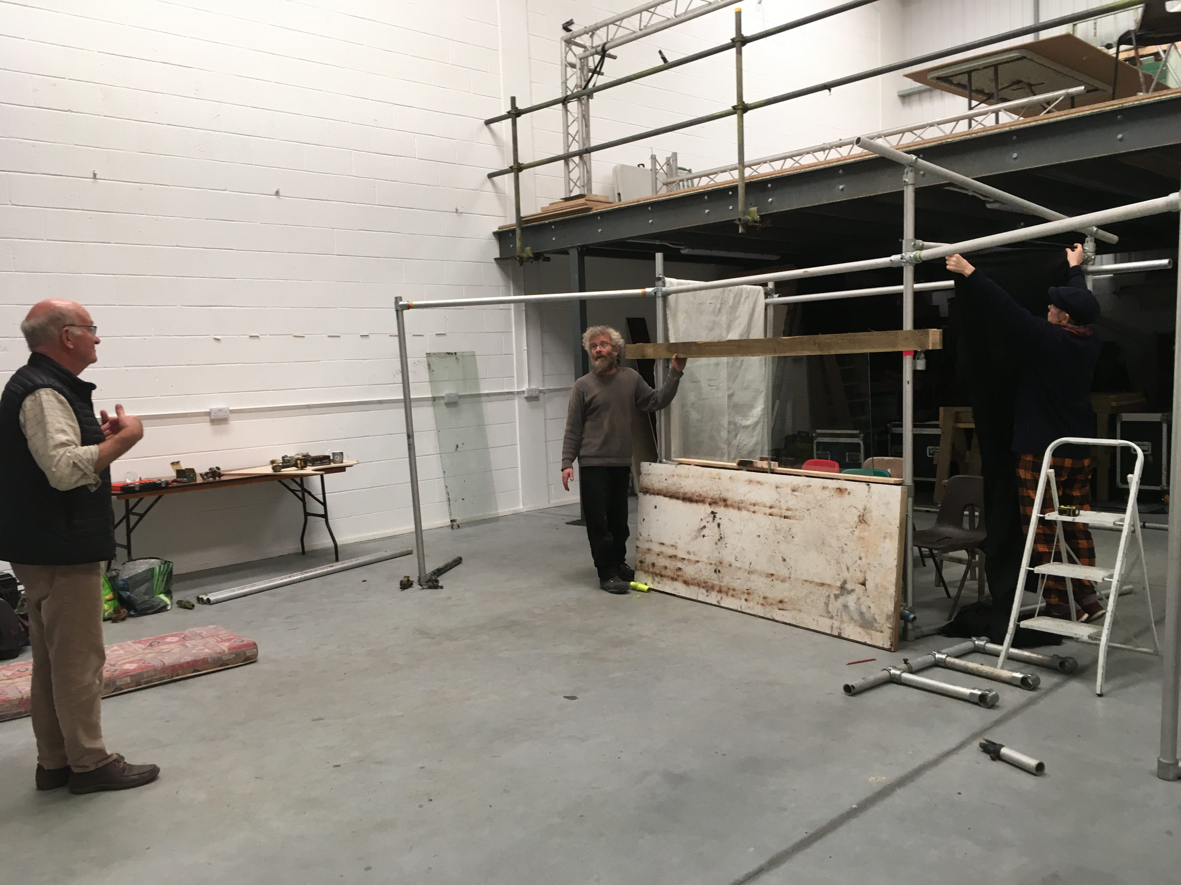 The Fleapit R&D in the Production Space