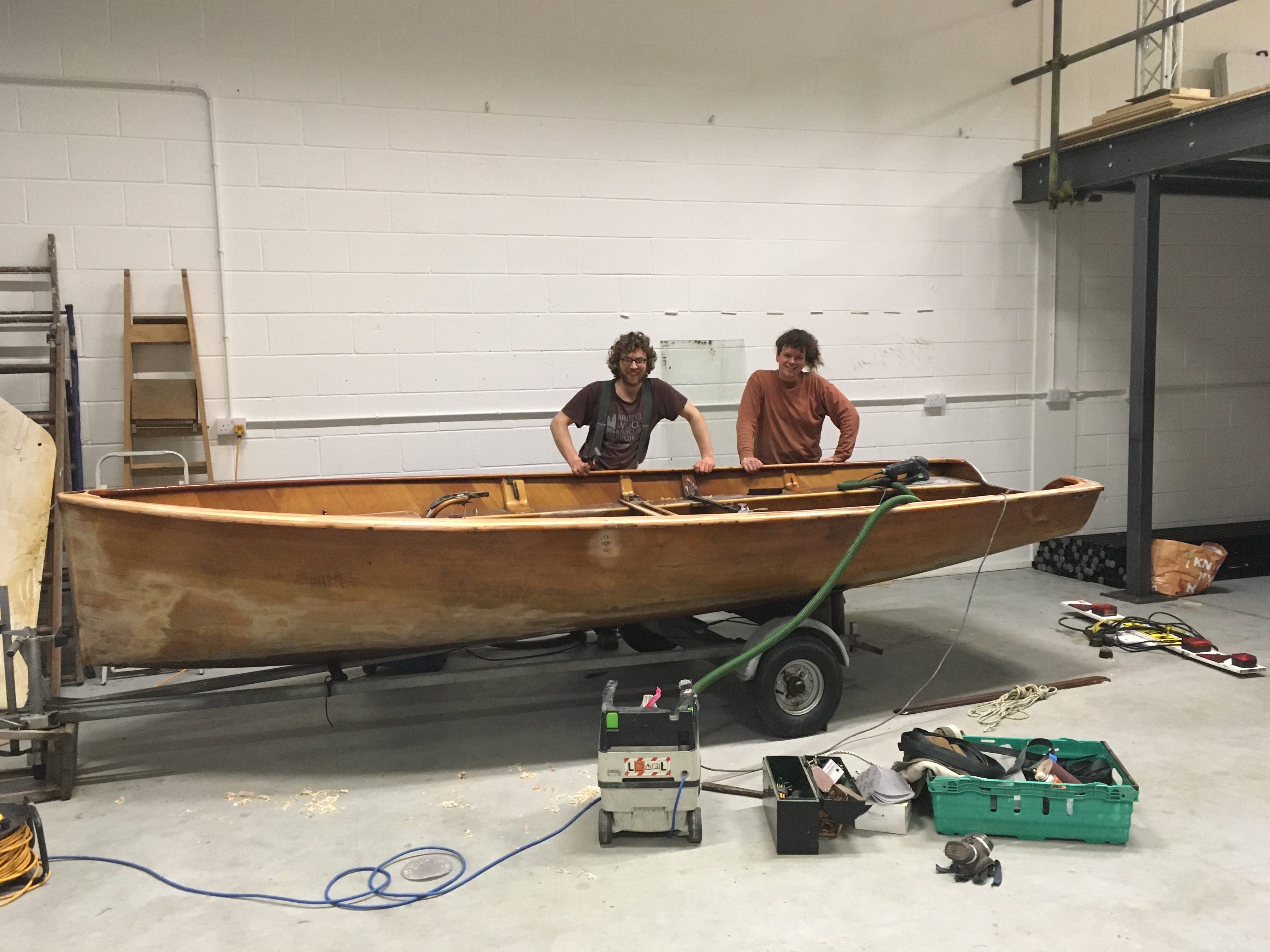 Boat making in the Production Space
